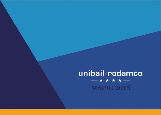 mapic 2015 Unibail rodamco rvb