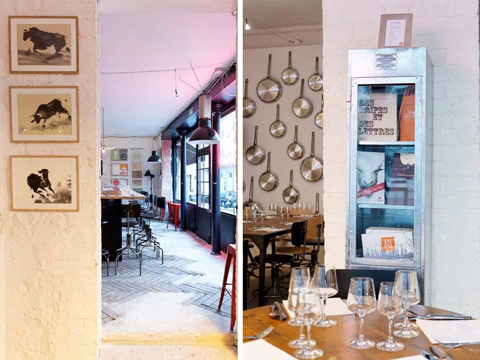 L'AMI TRIPIER_Salle de restaurant // LES PRODUITS TRIPIERS
