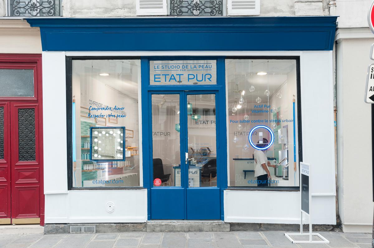 ETAT PUR_POP UP STORE-Facade