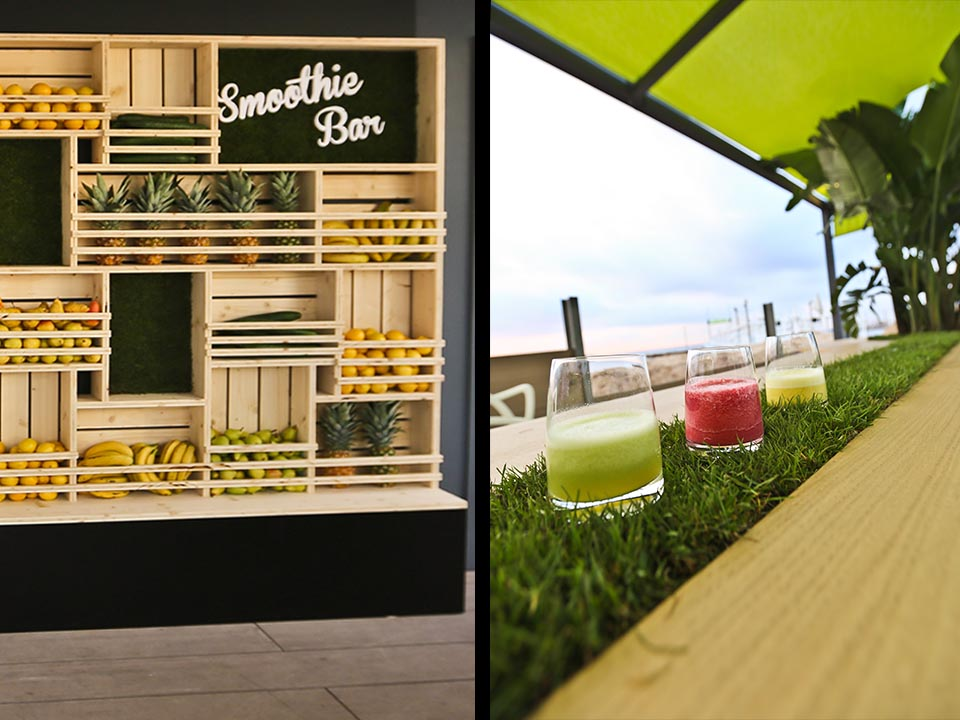 MAPIC_Bar à Smoothies // UNIBAIL-RODAMCO
