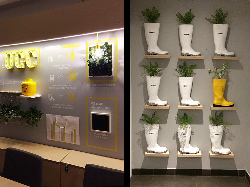 MARKETING SUITE_Mur du fond & sanitaire // UNIBAIL RODAMCO