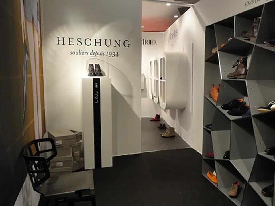 FASHION WEEK_Box Heshung// Fédération Française de la Chaussure