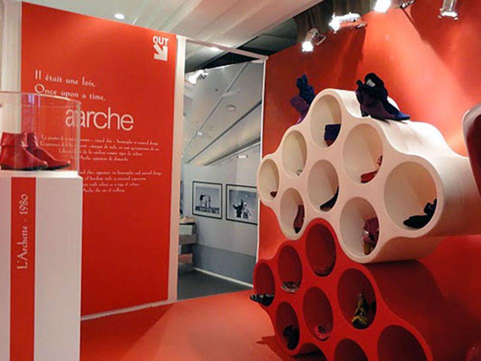 FASHION WEEK_Box Arche // Fédération Française de la Chaussure
