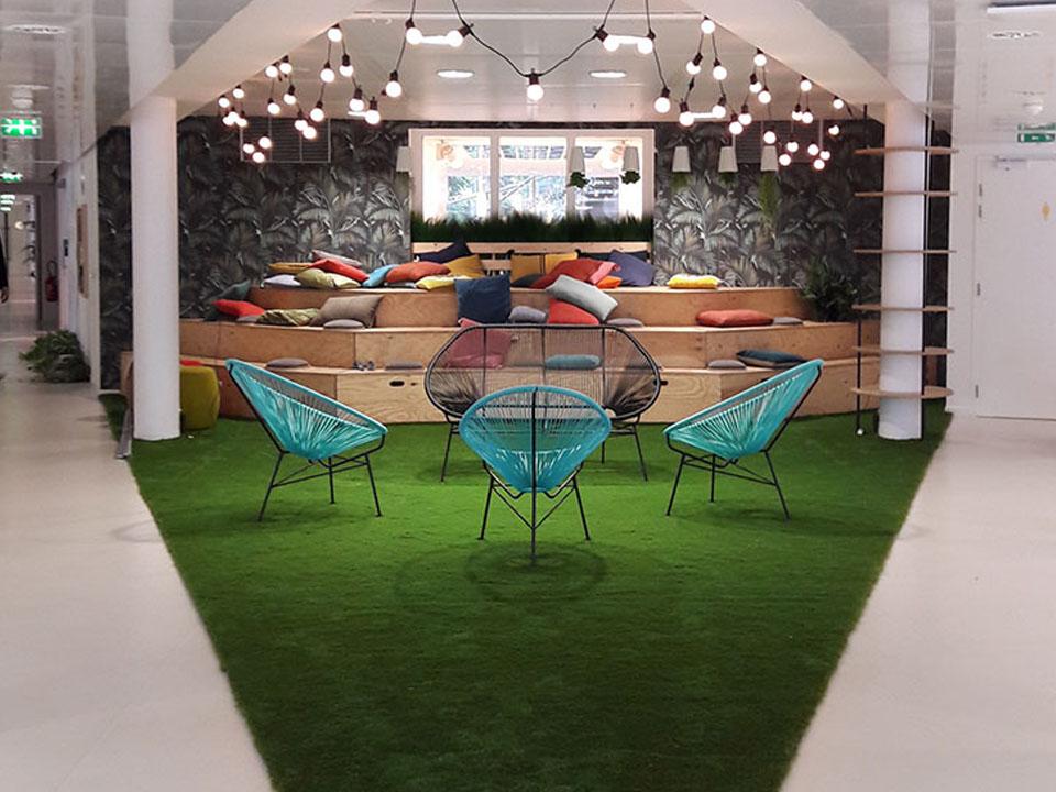 Déjeuner Business_Vue espace trio // UNIBAIL RODAMCO