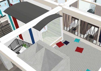 La Hune-coworking Le Havre_La Cabane 3D